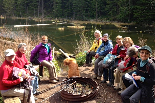 Lunch at Lily Lake