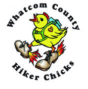 Hiker Chick Patch