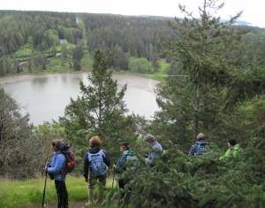 Goose Rock Trail at Deception Pass Park