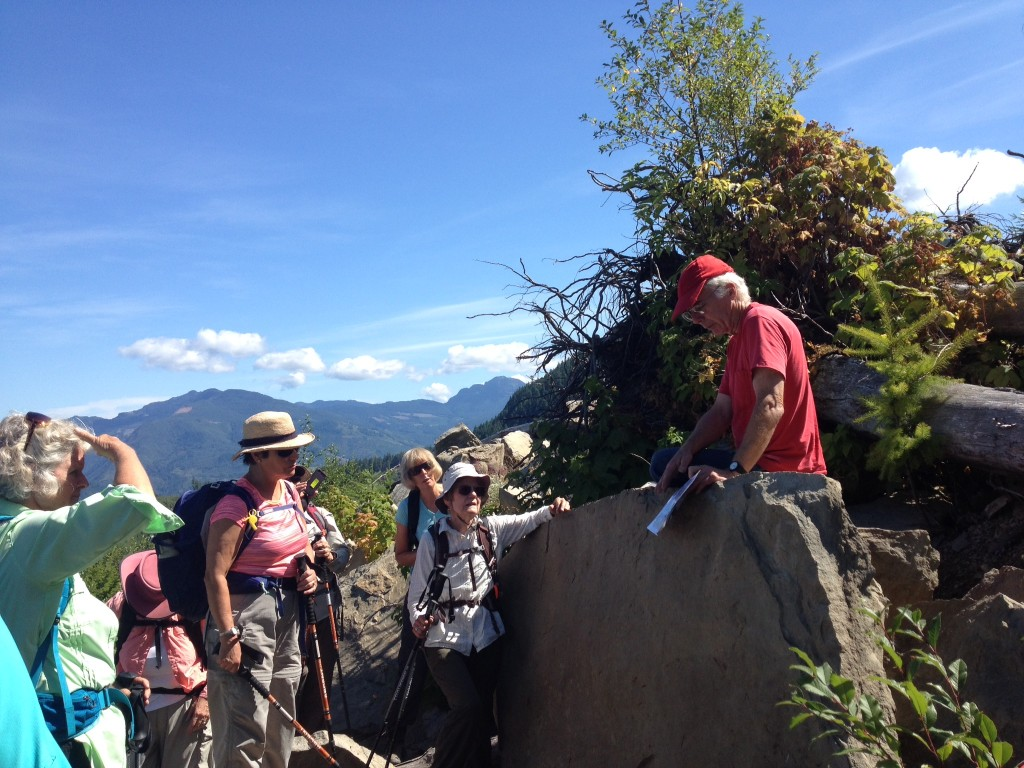 Racehorse Creek Hike with Geologic lessons along the way.
