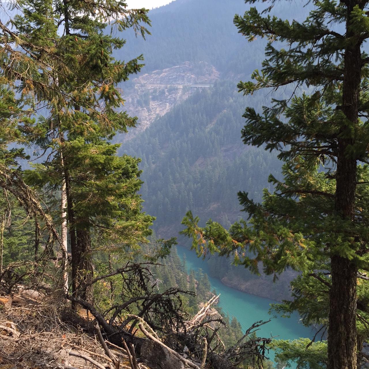 Diablo Lake Hike