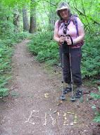 Last message on Diablo Trail