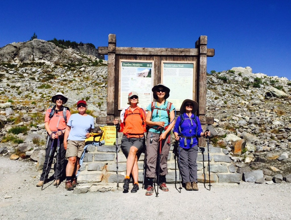 Intrepid Wild Goose Trail Trekkers - August 2015